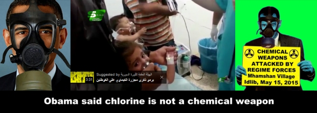 Syria Assad Chemical gas attack on his own people