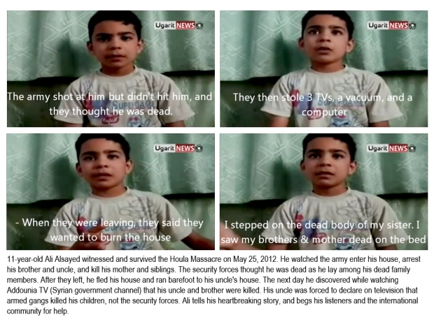 syria assad al houla homs massacre