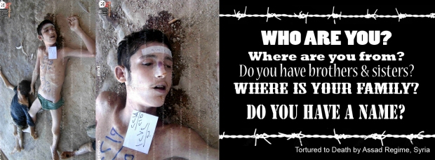 Syria Assad torture kill Syrian boy
