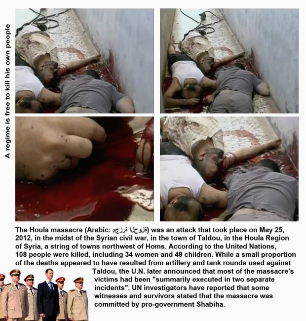 syria houla massacre children