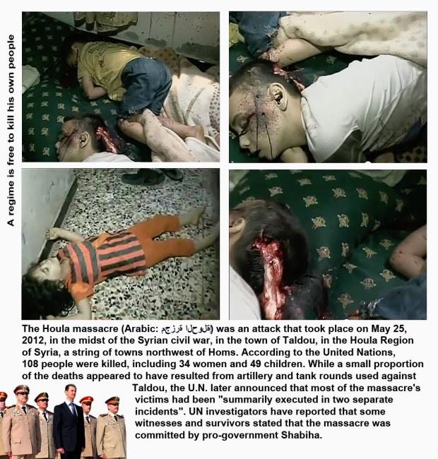 syria houla massacre babies