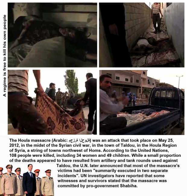 syria al-houla massacre