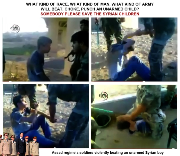 Syria Assad regime torture innocent syrian civilian