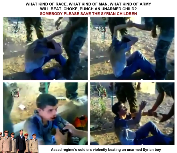 Assad regime war on children