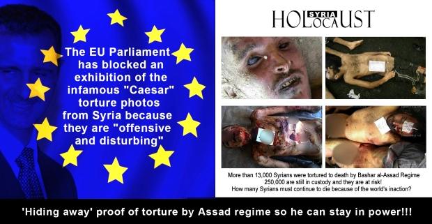 syria assad torture war genocide