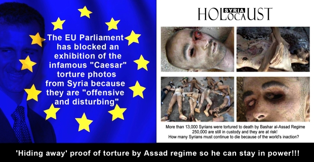 syria assad regime military army torture genocide