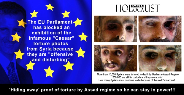 syria assad government torture kill genocide