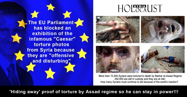 syria assad family torture genocide