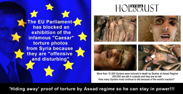 syria assad torture syrian holocaust