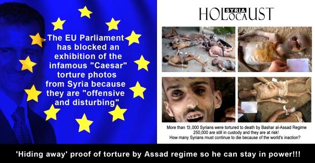 syria assad torture kill genocide