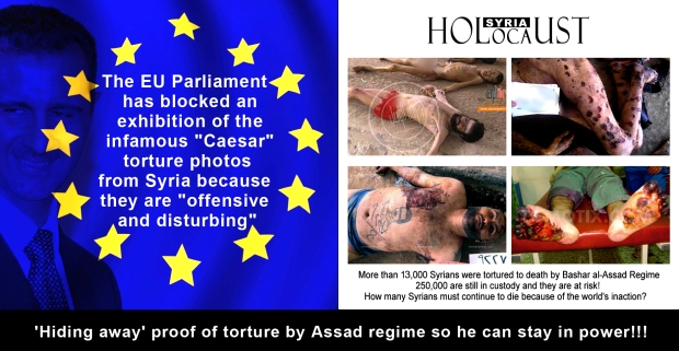 syria assad torture genocide chemical weapon