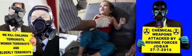 syria assad regime chemical chlorine gas bombs attack on civilians