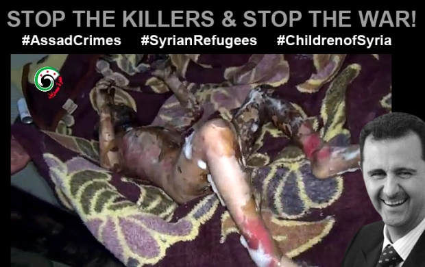 assad bashar shabiha syria kill children