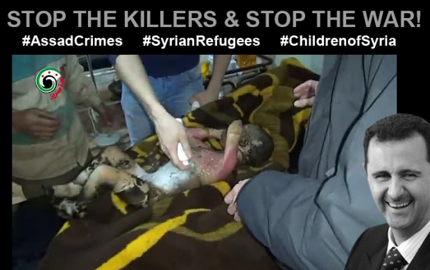 assad bashar syrian regimekill children
