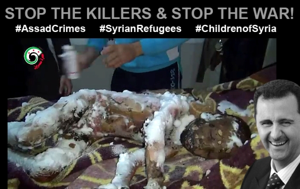 assad bashar in syria kill 26,000 Syrianchildren