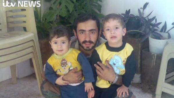 Assad Syria war on children