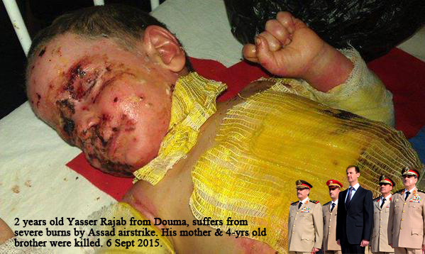 Assad Syria war targeted on children