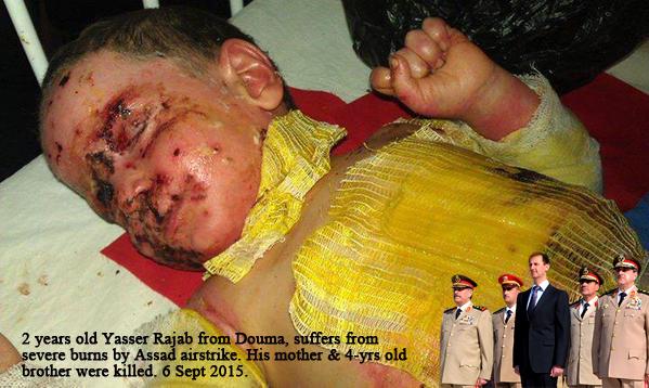 Assad Syria war targeted on children