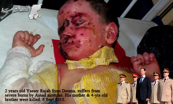 Assad Syria war on children, save syrian children