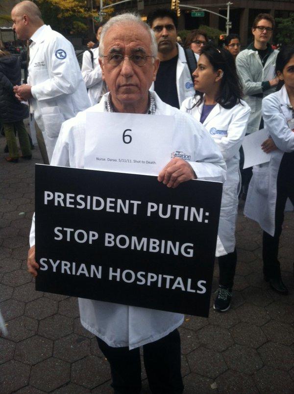 Syria Assad regime target hospitals, doctors, ambulances, medics
