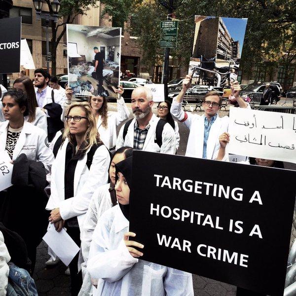 Syrian doctors were killed by assad regime