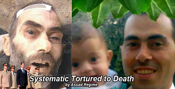 Systematic torture to death by assad regime