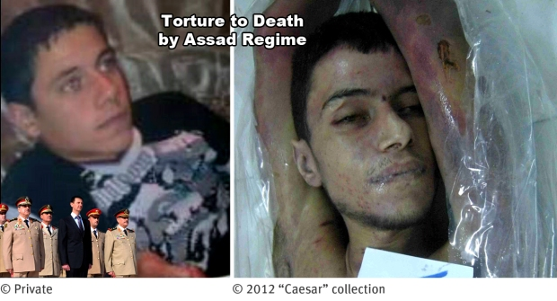 torture to death by assad