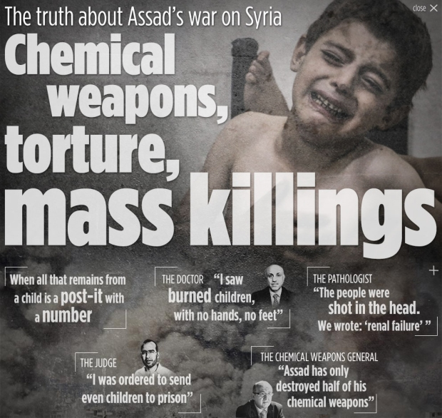 Assad War Crimes in Syria