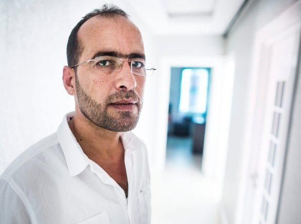 Der syrische Richter aus Aleppo Mersin/ Türkei, den 14.06.2015 Foto: Christian Spreitz
