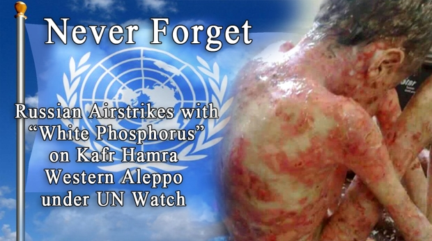 illegal chemical weapons were used by assad & putin