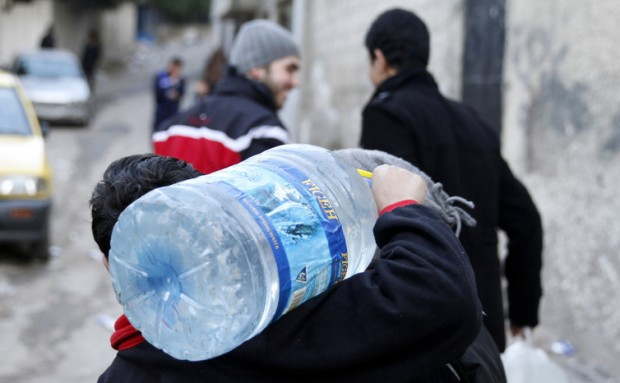 Damascus faces a water crisis. EPA/Youssef Badawi